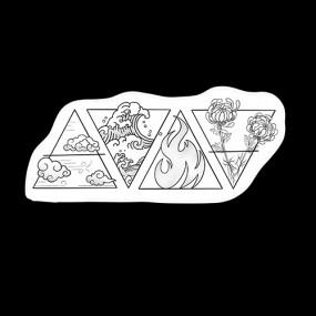 Tattoo 4 Elementos