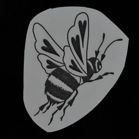 Tattoo Abelha coração